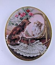 Decorator Plate Bradford Exchange 1977 Fairest of Them All Classic Elegance Cat