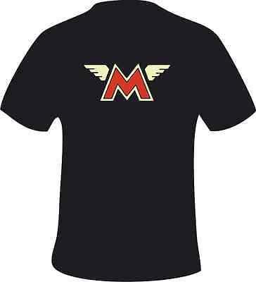 Matchless Crest Retro biker Motorcycle Vintage Motorbike Putty T-Shirt