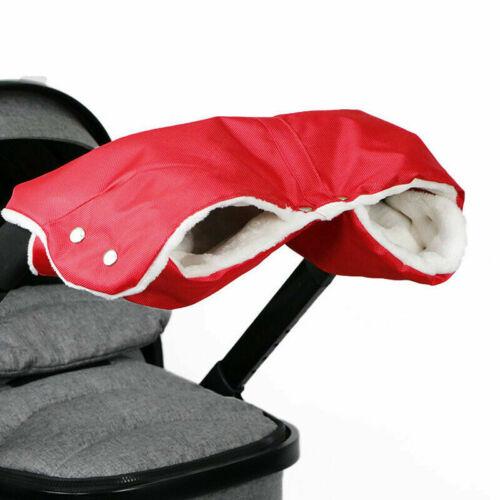 Winter Pram Warmer Gloves Pushchair //Buggy//Parm Hand Muff Handmuff Waterproof