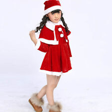 7974f949d item 2 Toddler Kids Baby Girls Christmas Clothes Costume Party Dresses  Shawl Hat Outfit -Toddler Kids Baby Girls Christmas Clothes Costume Party  Dresses ...