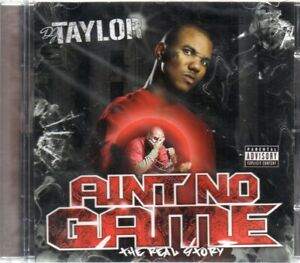 The-Game-DJ-Taylor-Ain-039-t-No-Game-CD-New-amp-Sealed