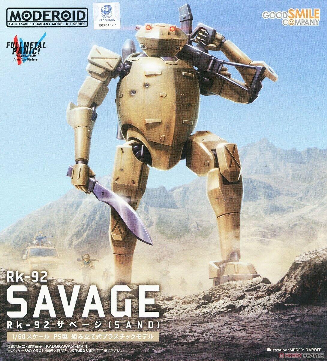 1 60 Moderoid Full Metal Panic    Invisible Victory - Rk-92 Savage SAND Model Kit 874cf5