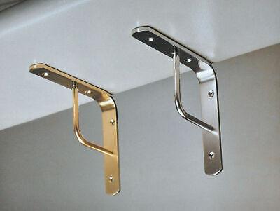 Mensola Reggimensola in ferro battuto stile liberty grande 25 cm reggi mensole