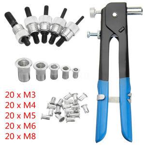 106PCS-Set-Blind-THREADED-NUT-RIVET-INSERT-TOOL-GUN-RIV-NUT-RIVET-M3-M8
