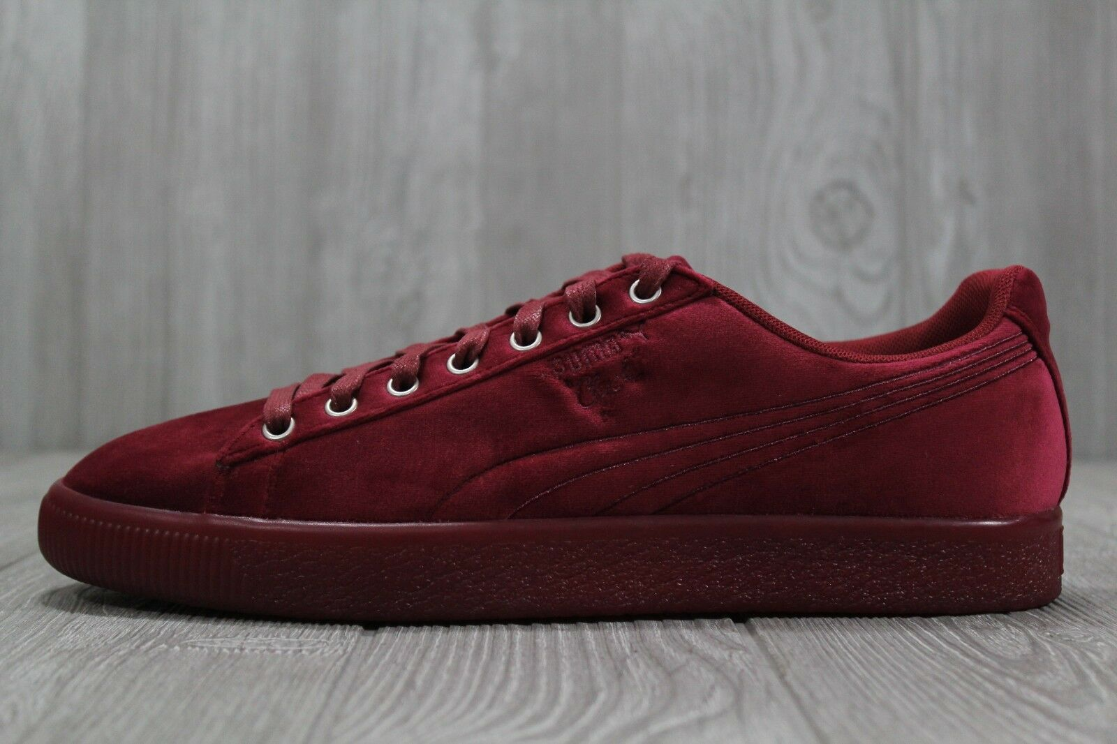 871c5187b8 35 New Puma Clyde Velour Ice Red shoes Size 9 11 04 Men's 366549 ...