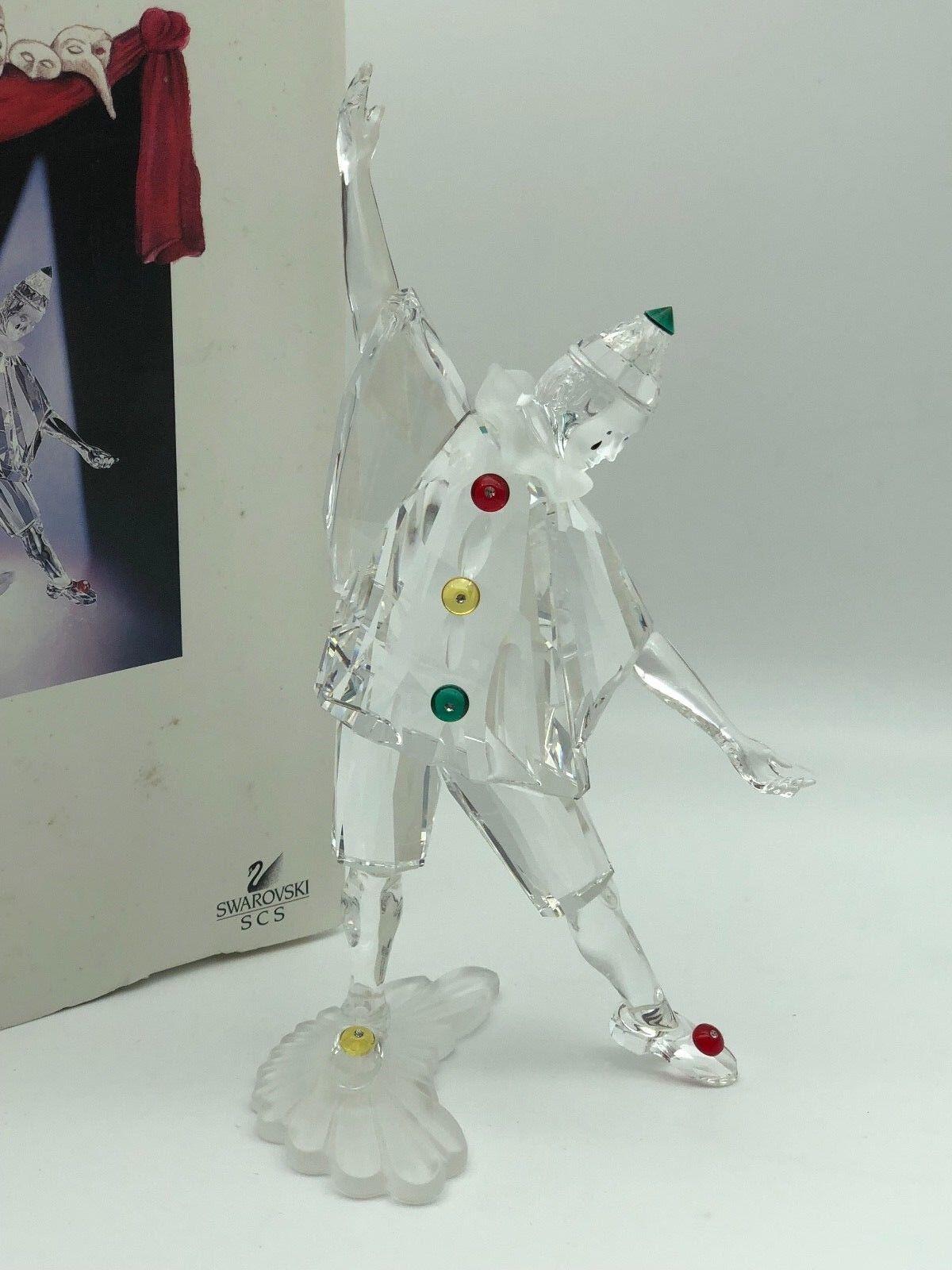 Swarovski Figur 099000 Pierrot 20 cm. Mit Ovp & Zertifikat. Top Zustand