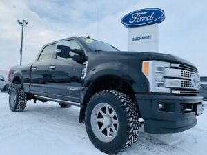 2019 Ford F 350 PLATINUM ULTIMATE! LEVELED! DPF DELETE! LOADED!