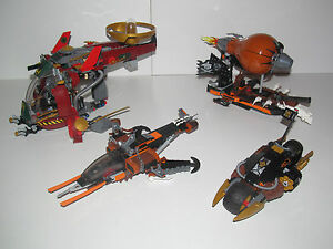 Lego ? Vehicule Engin Ninja Ninjago Choose Model NEW