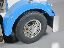 Aluminum Front Hubs Cover Wheel Nut for Tamiya RC 1/14 Grand King Hauler Semi