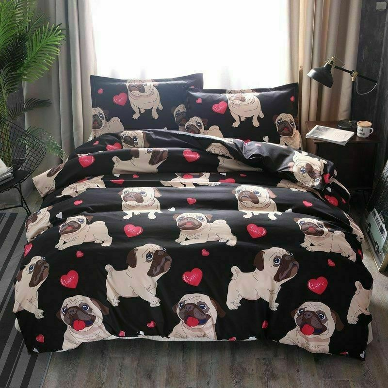 Lennie The Llama Multi King Size Quilt Set Bedding Pillow Sham Cover Animal Bed For Sale Online Ebay