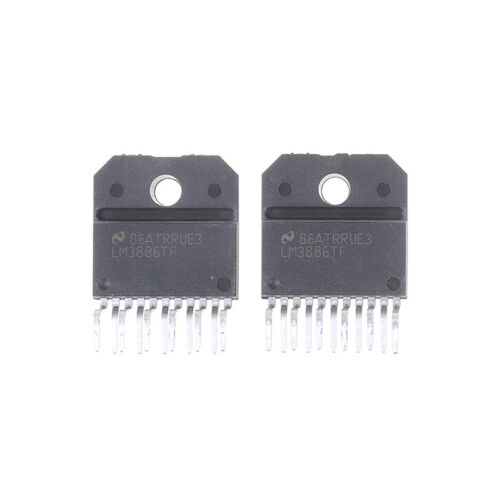 HU 2Pcs LM3886-TF original NS 68W audio power amplifier IC LM3886TF