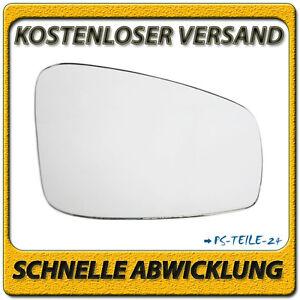Spiegelglas-fur-RENAULT-MEGANE-III-2008-2015-rechts-Beifahrerseite-konvex