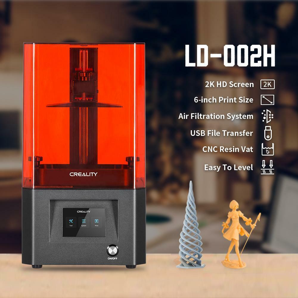 Creality 3D® LD-002H UV Resin 3D Printer (Build Volume 130*82*160mm)