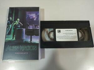 Alien-Nacion-James-Caan-Terror-VHS-Cinta-Tape-Espanol