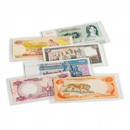 Leuchtturm HP Basic170 Schutzhüllen für Banknoten Geldscheine Briefmarken