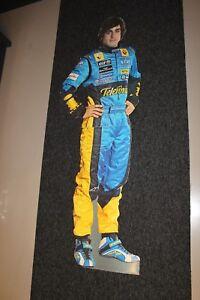 Cardboard-Figurine-Fernando-Alonso-Mild-Seven-Renault-F1-height-180-cm
