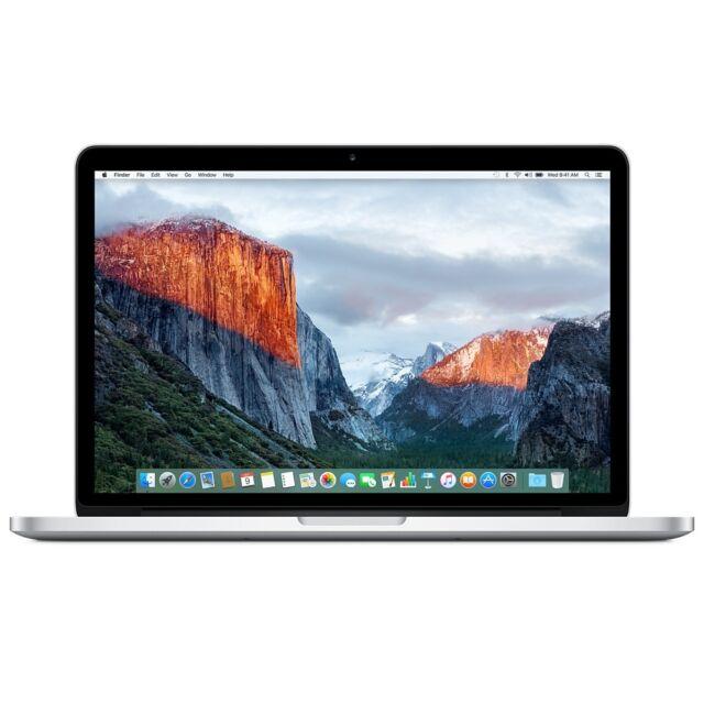 """Apple MacBook Pro A1502 13.3"""" Laptop RETINA - MGXD2LL/A (2014) 16GB 128GB SSD"""