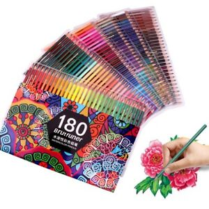 180 Professional Watercolour Pencils Multi-Coloured Drawing Pencils for Artists