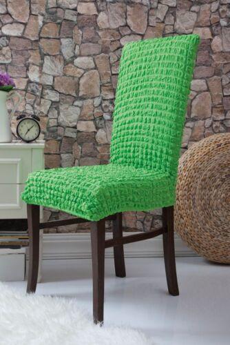Stretch stuhlhusse silla referencia elásticos cubierta decoración silla ajuste colores