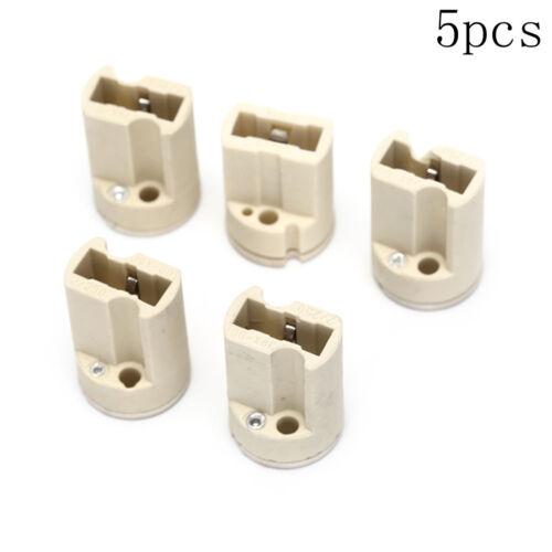 5 teile//los G9 lampenfassung konverter steckdose umbau glühbirnenbasis typada NF