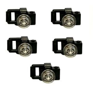Black New New Camera Black 2 x lego 30089 Minifigure Camera