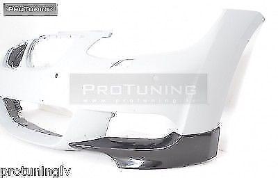 Front bumper splitters spoiler flaps elerons addon M Power tuning sport M-tech