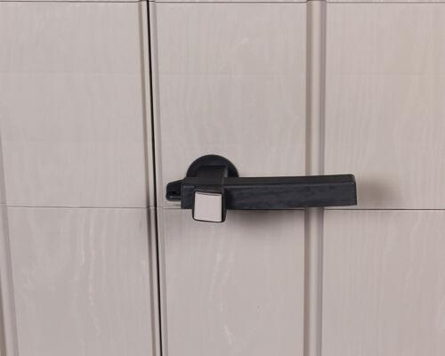 Gartenhaus High Storer Light Geräteschuppen 1670L Gartenhaus Gerätebox Outdoor