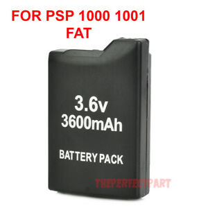 Rechargeable 3600mAh Replacement Battery Pack For Sony PSP PSP-1000 1000 1001