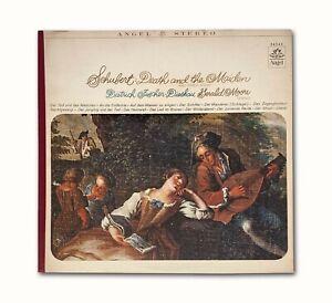 Vintage 1966 Schubert Death and the Maiden (and Other Songs), Fischer-Dieskau LP