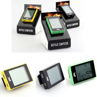 Bicycle Odometer Speedometer Cool Computer Cycling Wireless Backlight Bike