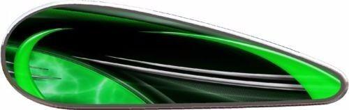 Shok motorcycle tank vinyl graphic decal set