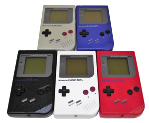 Nintendo-Gameboy-DMG-Brick-Classic-Console-Recased-Reshelled-Solid-Colors