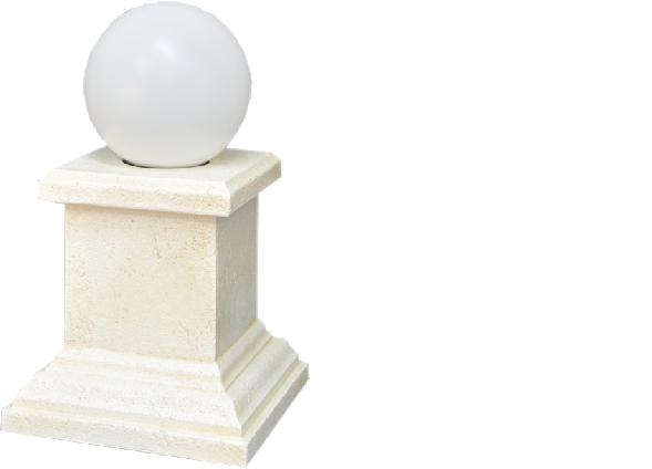 Säule Lampe Skulptur Steh Leuchte Stand Leuchten Figur Skulpturen Säulenlampe