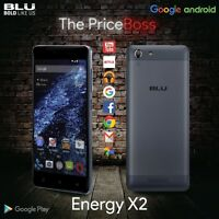 Blu Studio Energy X2 5 4g Dual Sim Android Unlocked Gsm Phone Black E050u