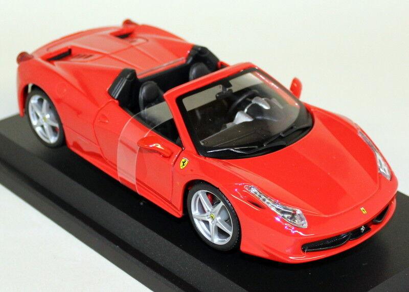 Burago 1 24 Scale - 18-26017 Ferrari 458 Spider red Red Diecast model car