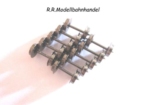 BTTB Radsatz  tt  10 Stück  Metall  8,0  mm beidseitig  Isoliert