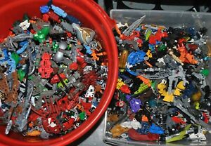 APPROX-1-KG-LEGO-KILO-job-lot-Bionicle-Hero-Factory-Galidor-Constraction-figures