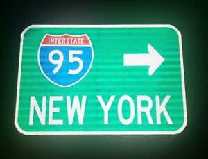 Interstate-95-NEW-YORK-route-road-sign-New-York-Interstate-95-Yankees-Mets