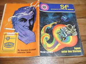 Maxim-Bremer-Z-SF-Science-Fiction-153-Agent-unter-den-Sternen-ca-1970er