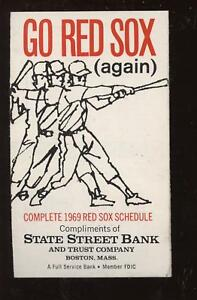 1969-State-St-Bank-Boston-Red-Sox-Pocket-Schedule-EXMT