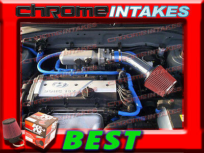 RED BLUE AIR INTAKE KIT FOR 01 02 03 04 05//2001-2005 HYUNDAI ACCENT WITH 1.6L