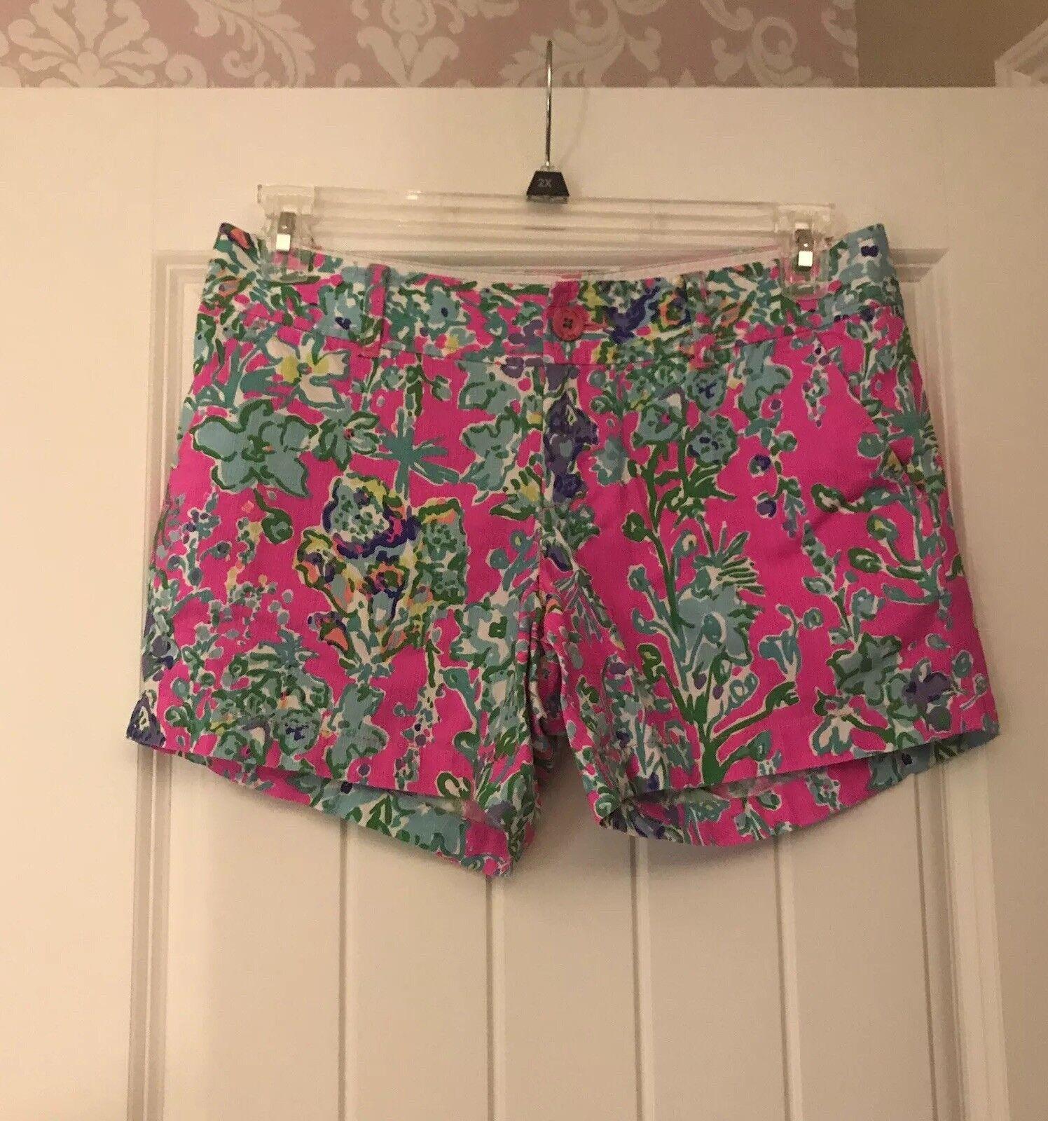 Lilly Pulitzer Southern Charm Callahan Shorts 6 Original colorway Floral