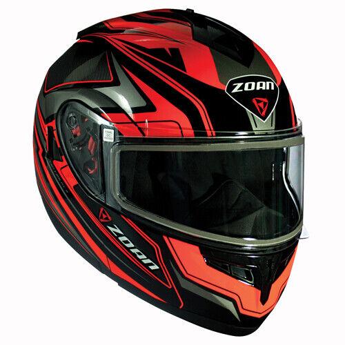 Eclipse Graphic Zoan Optimus Helmet Orange-Small P//N 238-154