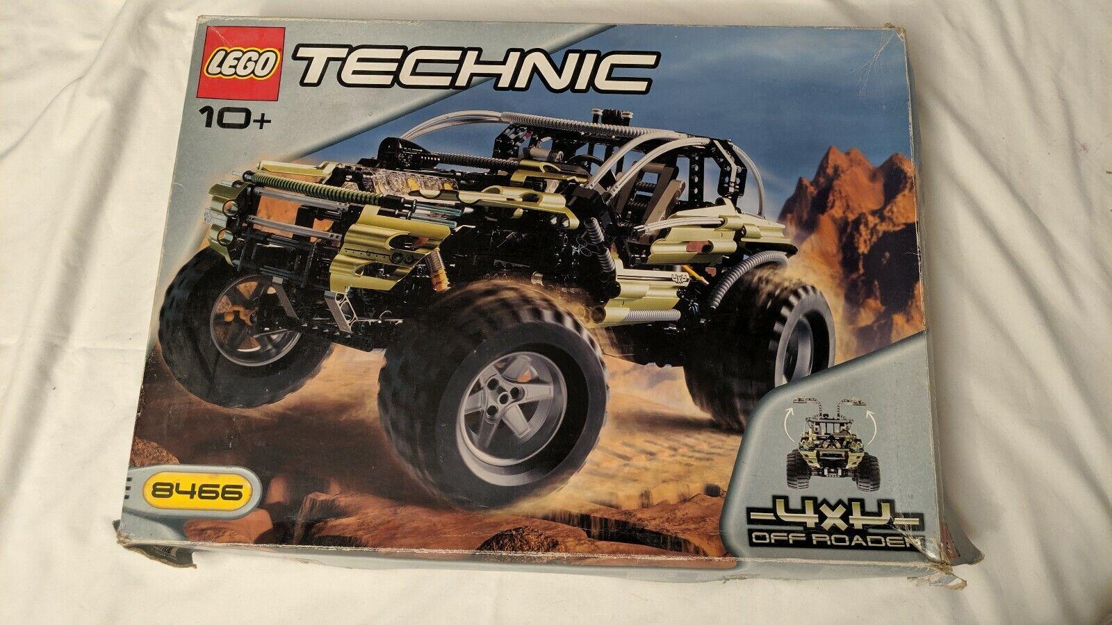 LEGO TECHNIC 8466  4x4  Off Roader  pas cher et de haute qualité