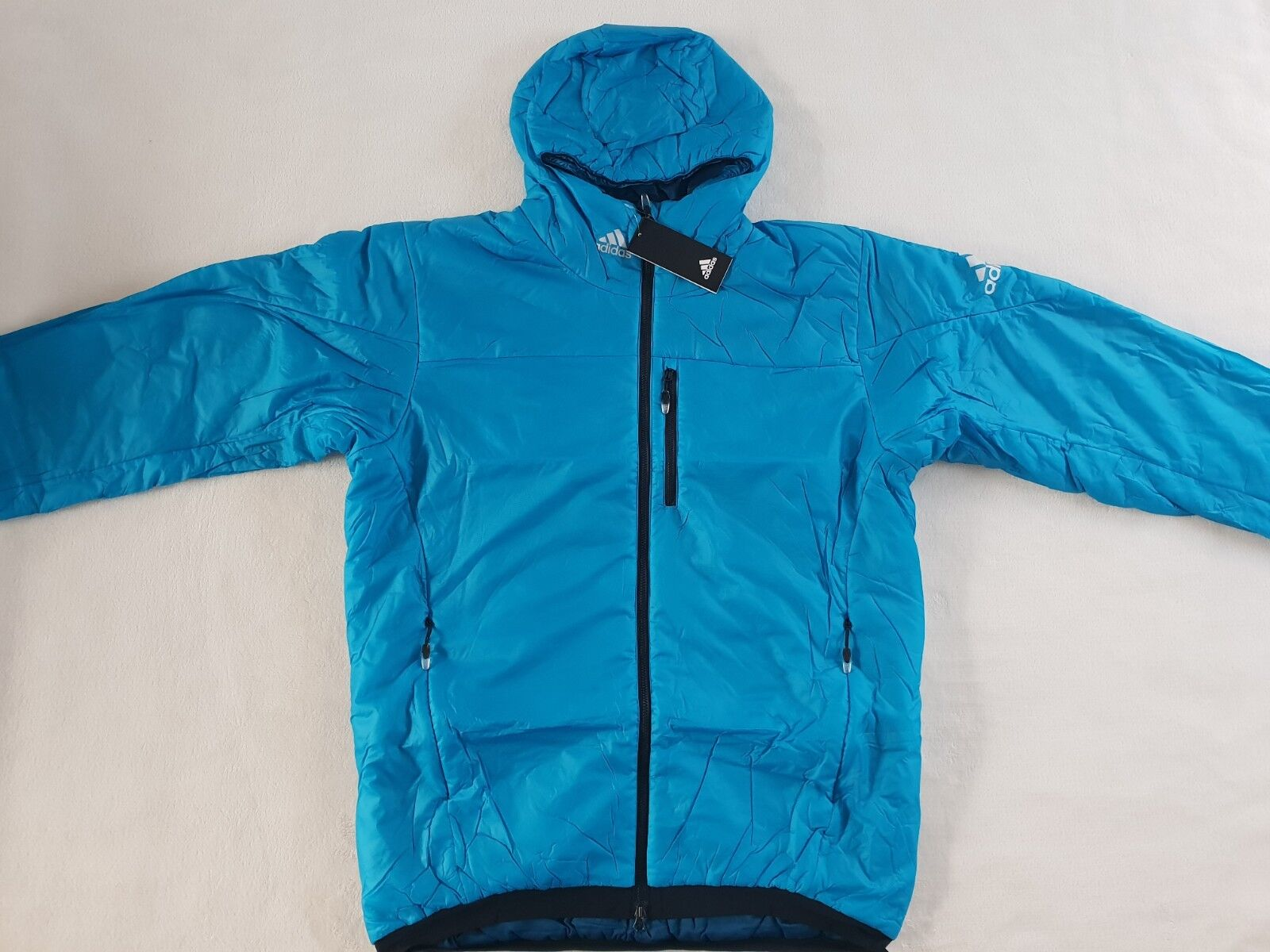 Adidas Primaloft Athleten Winter Jacke Größe 52 54 56 -NEU- Skijacke