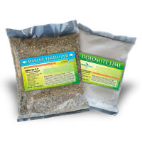 Replant Kit - Earthbox Or Container - Premium Dolomite Lime And Fertlizer Combo