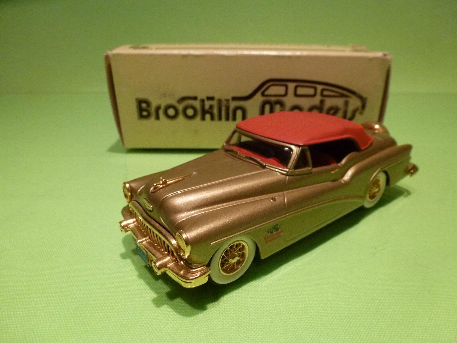 BROOKLIN MODELS BRK 20x BUICK SKYLARK CONverdeIBLE 1953 - GAZETTE - 1 43 - NMIB