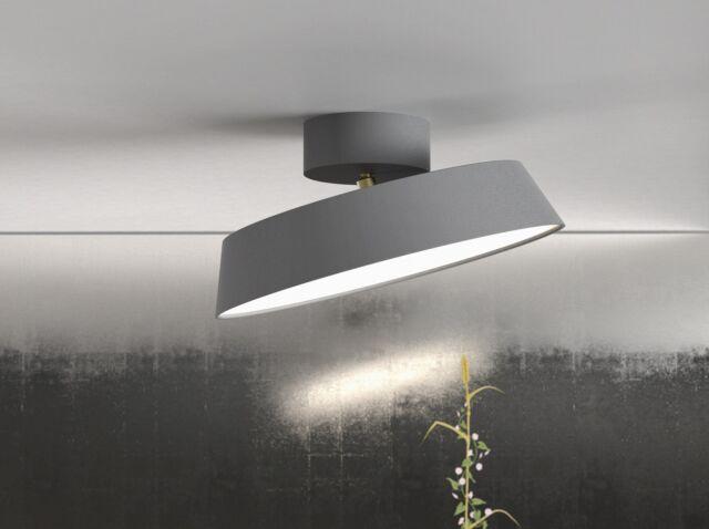 nordlux led ceiling light alba 12w grey rotatable ebay