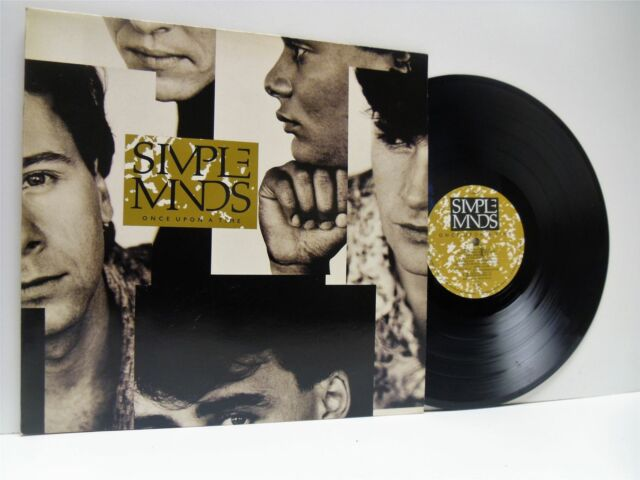SIMPLE MINDS once upon a time LP EX/EX, V2364, vinyl album, with lyric inner, uk