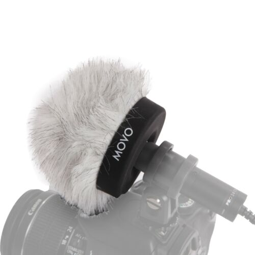 Movo WS50 Pro Windscreen w//Acoustic Foam for Shotgun Microphones up to 3cm Long